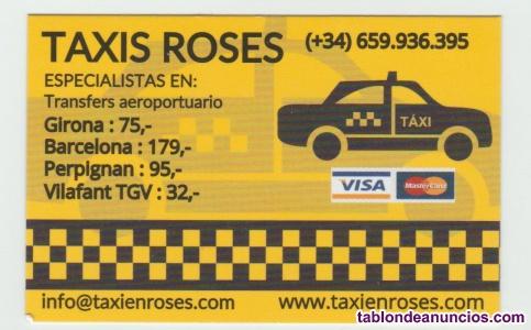 Venta licencia de Taxi en Roses
