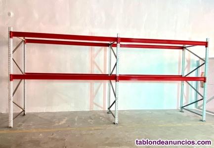 Venta estanterias industriales usadas-mecalux - esmena - picking y paletización