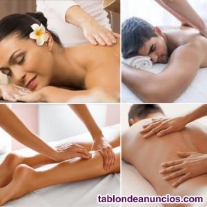Masajes terapéuticos relajantes.