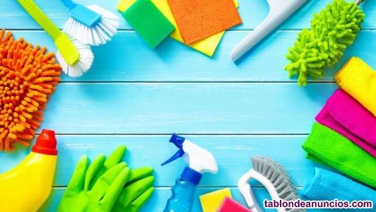 Busco trabajo de limpieza o cuidado de niños o mayores