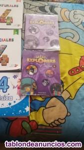Vendo libros de 4 de primaria