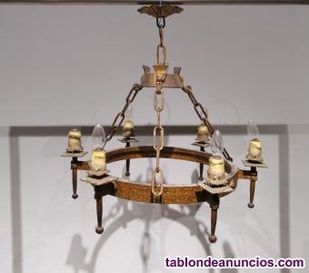 Lámpara rústica ø70cm