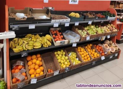 Estantería fruta y verdura 300cm