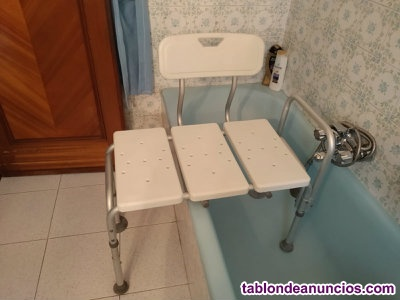 Silla para bañera. Altura adaptable