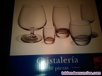 Cristalería 30 piezas