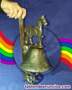 Campana recibidora fundida en diferentes metales