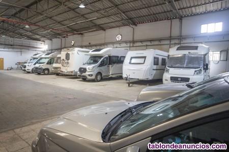 Parking para Caravanas y  Autocaravanas.