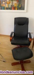 Se vende 2 sillones orejeros y unos reclinable con reposapiés