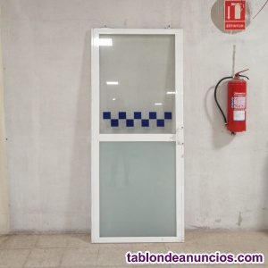 Puerta corredera aluminio 87x205cm
