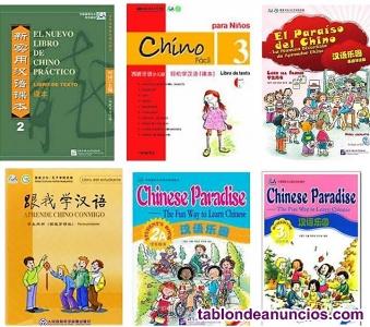 Vendo libros de chino