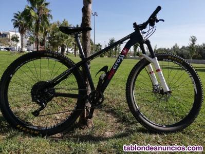 MTB Alpcross 27,5'' carbono talla S