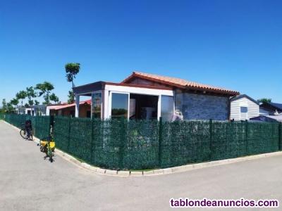 Se vende casa de piedra en el camping de Bañares