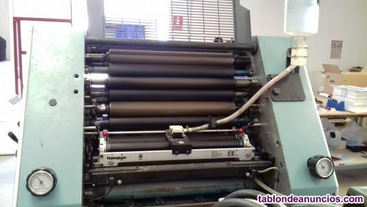 Por jubilación vendo una pequeña imprenta