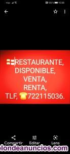 Venta de piso y de restaurante