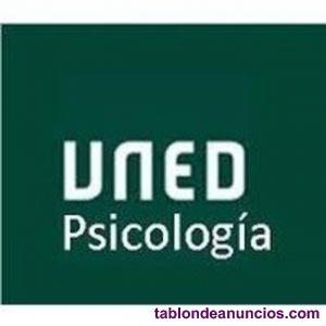 Libros de primero de psicología 2020/2021 uned