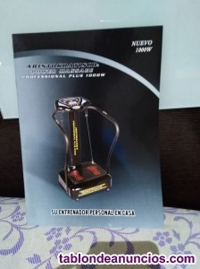 Se vende plataforma vibratoria