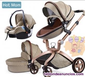 Cochecito de bebé Hot Mom 3 en 1