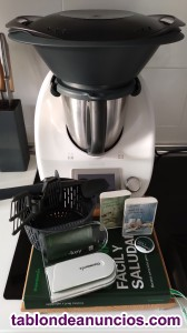 Se vende Thermomix TM5 completa con Cook key y libros digitales