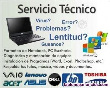 Servicio Técnico en Hard y Software