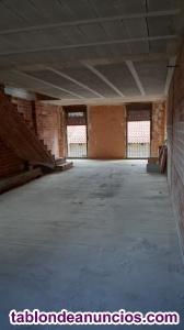 Casa de 4 plantas sin distribuir