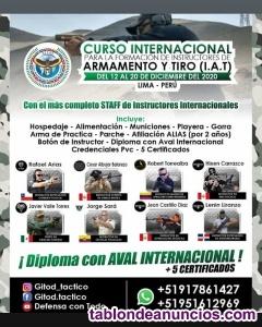 Curso internacional para Formar Instructores de Armamento y Tiro
