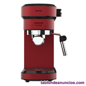 Cafetera express de brazo cecotec cafelizzia 790 shiny 1,2 l 20 bar 1350w rojo