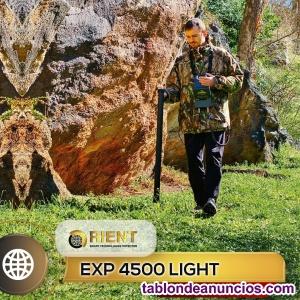 EXP 4500 el detector de tesoros más potente: 21 m de profundidad.