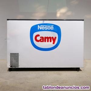 Congelador blanco 130x60cm