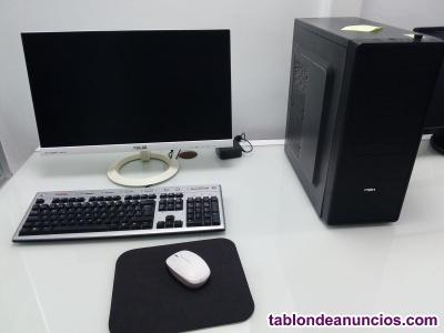 Ordenador Intel core i5+ monitor+teclado + raton