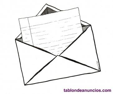 Ofrezco €10 para recibir una carta