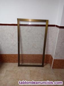 Vendo ventanas de aluminio galvanizado