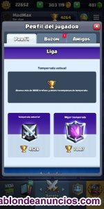Cuenta Clash royale nivel 13