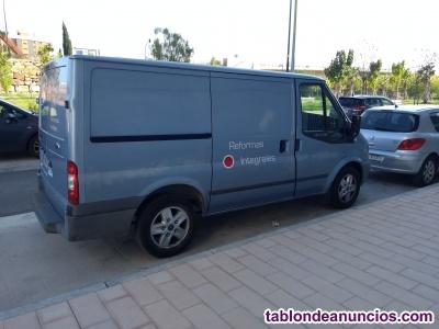 Furgoneta Ford Transit 110cv 2200cc  3 plazas diesel cerramiento caja homologado