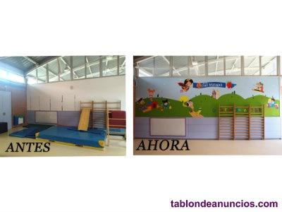 Pintura mural en centros educativos