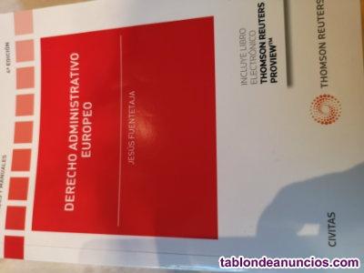 Manual de DERECHO ADMINISTRATIVO EUROPEO 4ª edición