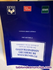 Fundamentos de Derecho Administrativo 5ª Edición