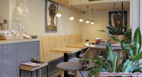 Traspaso cafetería lic c2 con terraza zona sarria