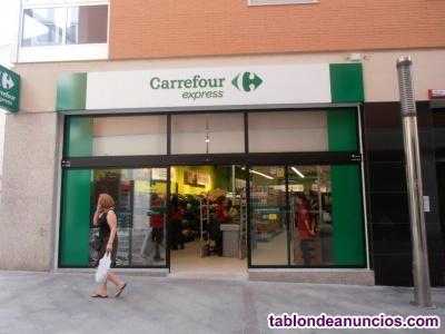 Traspaso Supermercado Carrefour Express Elche