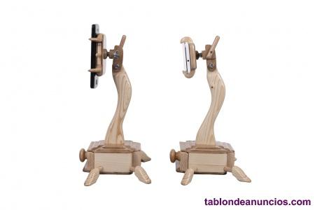 Sujetador de madera  para movil