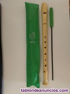 Flauta dulce de colegio