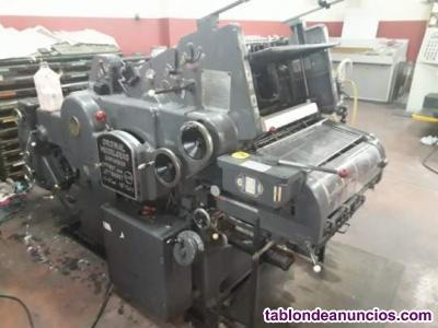 Maquina offset heidelberg kord