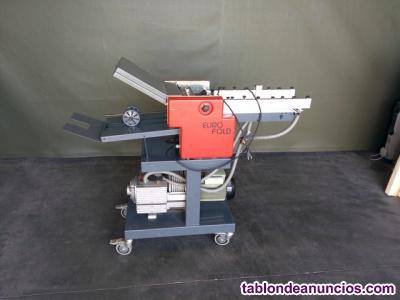 Maquina plegadora eurofold
