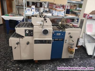 Maquina offset ryobi 500n np