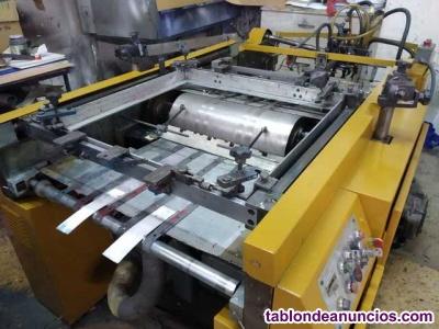 Máquina de serigrafía automática