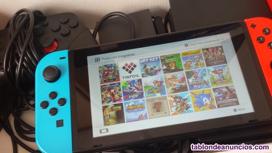Nintendo switch ha cke ada  2o17