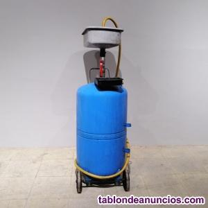 Recogedor de aceites taller