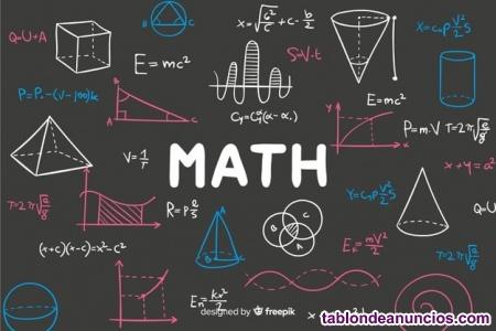 Clases matemáticas presencial/online