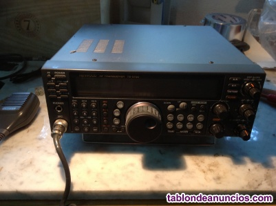 Equipo de radiotransmisor Kenwood TS 570D