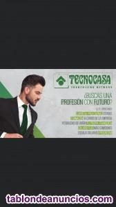 Asesor inmobiliario (sueldo fijo 983€ netos + comisiones
