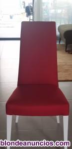 6 Elegantes y modernas sillas de comedor